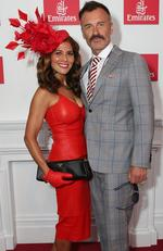 Melbourne Cup Day. Kelly and Julian McMahon. Picture: Julie Kiriacoudis