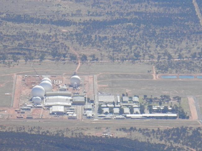 Pine Gap is in the middle of nowhere and that's how the Australian and US governments like it.