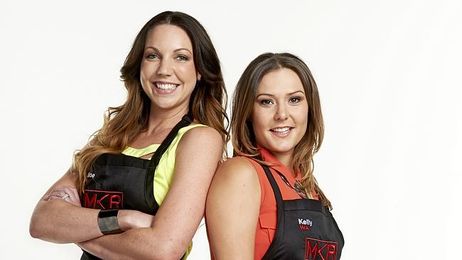 Talking point ... MKR villains Chloe and Kelly have proved to be ratings gold for the reality show.