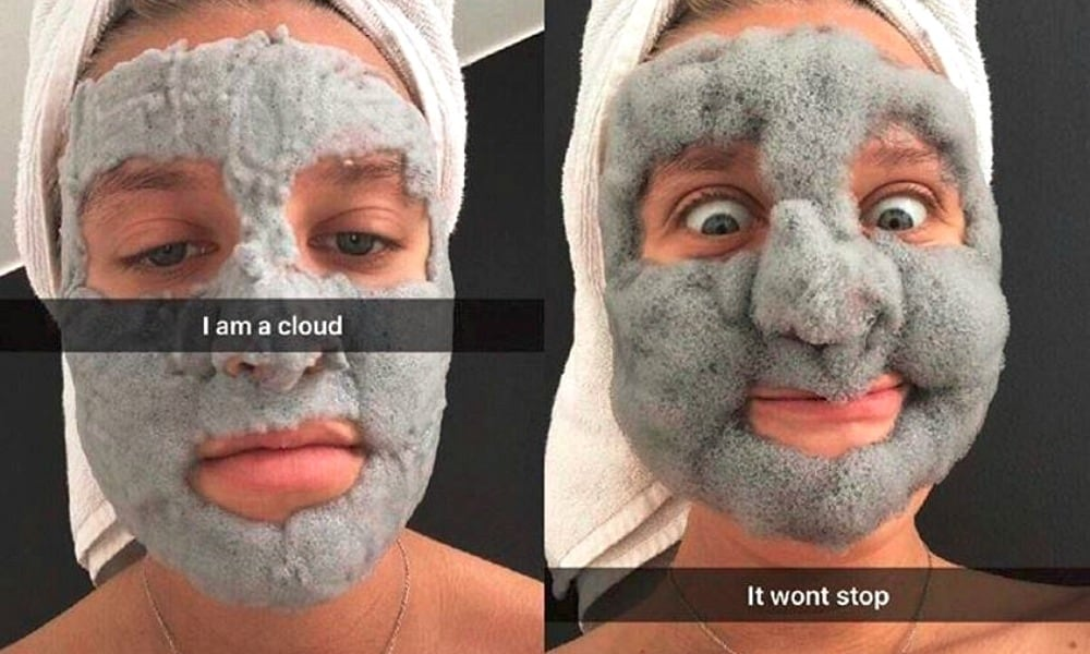 Bubble masks are taking over the internet ... and your face