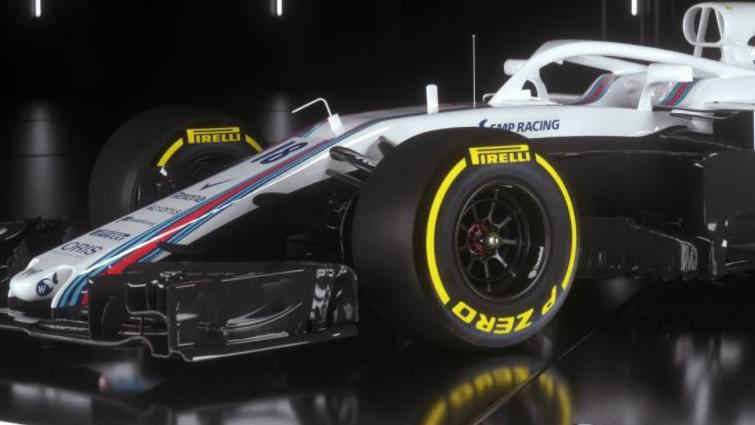 f1 2018 williams reveal car confirm drivers for new season herald sun. Black Bedroom Furniture Sets. Home Design Ideas