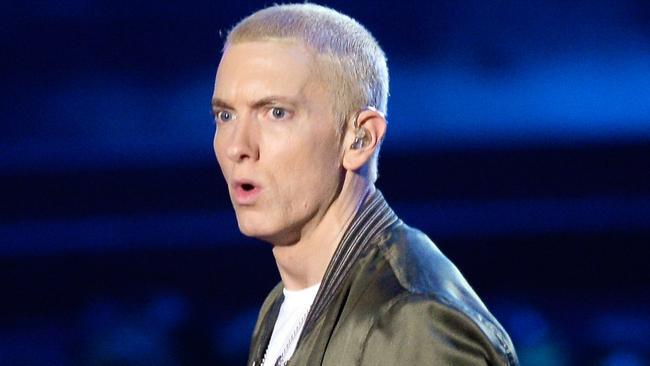 Eminem's gay dating app revelation confuses fans