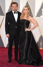 Leonardo DiCaprio, and Kate Winslet attend the 88th Annual Academy Awards on February 28, 2016 in Hollywood, California. Picture: AP