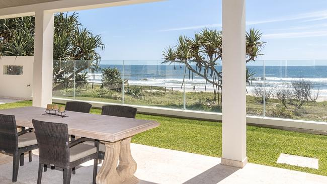 BEACH ON YOUR DOOR STEP: Fall out of the pool and into the surf at this Hedges Avenue home which has a double frontage onto Mermaid Beach. (For sale by expressions of interest).