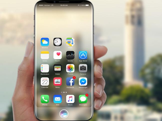 OLED panels are expected to be used for the iPhone 8