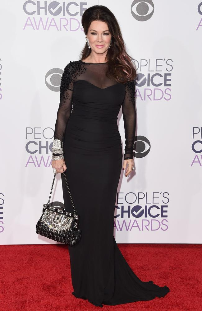 Real Housewives personality Lisa Vanderpump attends the People's Choice Awards 2016. Picture: Jason Merritt/Getty Images/AFP