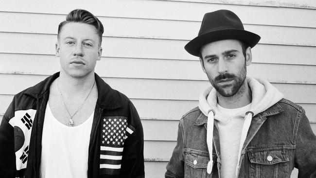 Macklemore and Ryan Lewis learnt from how they handled their Grammy victory. Picture: Supplied.