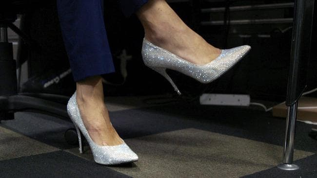 The sparkly heels are usually reserved for the weekend, or Friday night drinks.