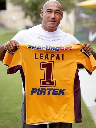 The story of Alex Leapai's climb from desolation and despair is already a ready-made film script, with little need for an edit. Picture: Jono Searle