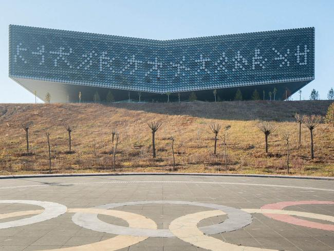 Ordos has Olympic inspired facilities. Picture: Raphael Olivier