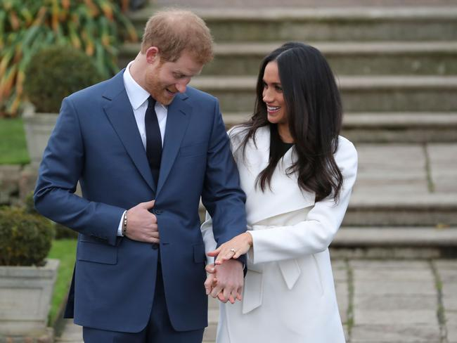 The couple are due to wed this Saturday, 19 May. Picture AFP