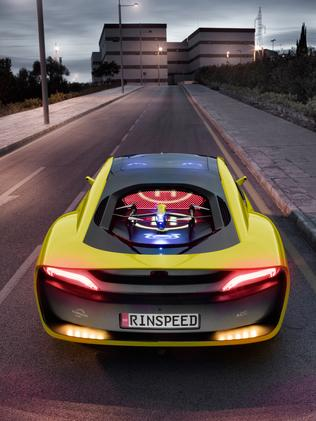 Rinspeed Etos concept car is based on the BMW i8 hybrid supercar. Picture: Supplied.