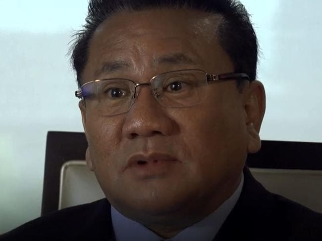 Ri Jong-ho is a former senior North Korean economic official. Picture: Screengrab/The Washington Post