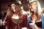 <p>American Pie ... Tara Reid in a scene with Natsha Lyon</p>