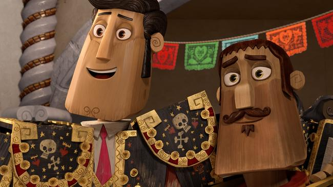 Scene from the animated movie Book Of Life. Fox