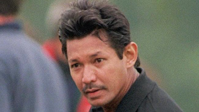 Prince Jefri Bolkiah, brother of Sultan of Brunei, during polo match at Cirencester Park, England, in June 1998.