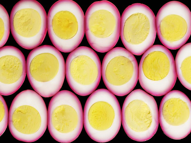 Egg cross sections. Picture: Picture Media