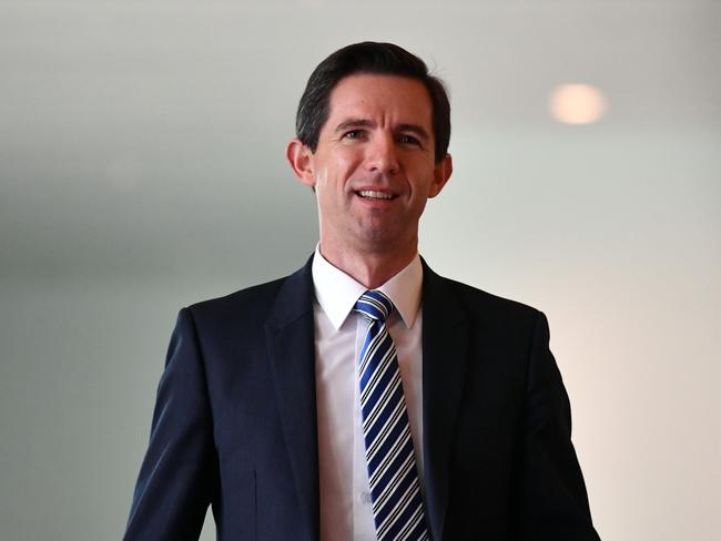 Minister for Education Simon Birmingham. Picture: AAP.