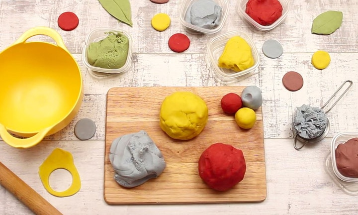 No-cook play dough