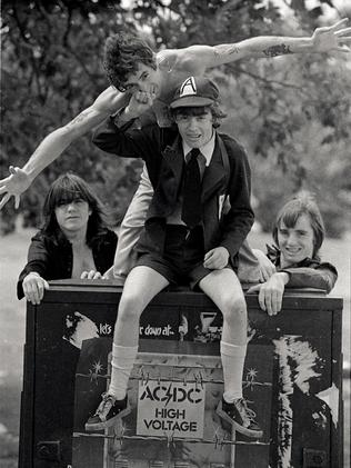 is angus young gay