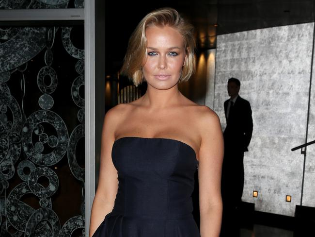 Lara Bingle at the Rolex event in Sydney on Wednesday night.