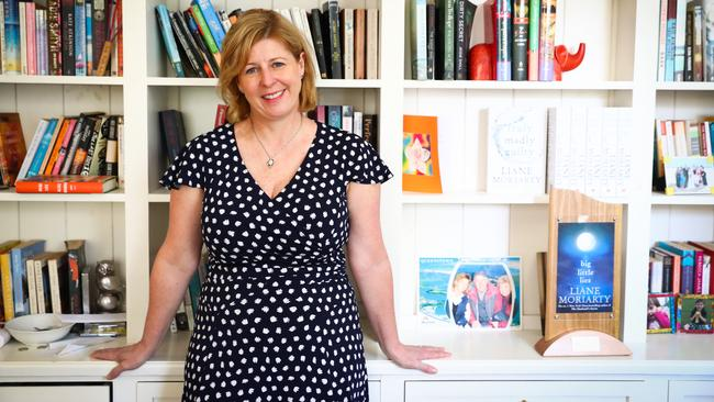 Bestselling Australian writer Liane Moriarty is hot property in Hollywood. Picture: Renee Nowytarger.