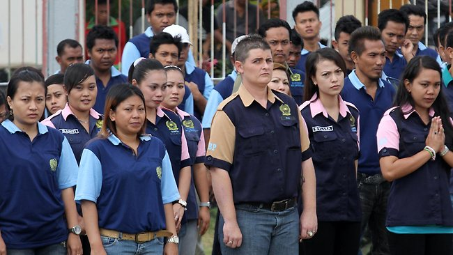 Renae Lawrence - the only female member of the Bali Nine - received a 20-year jail sentence. Picture: S.bintoro Lukman