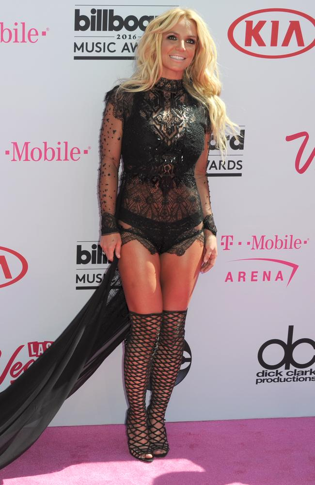 Britney Spears arrives at the Billboard Music Awards at the T-Mobile Arena on Sunday, May 22, 2016, in Las Vegas. Picture: Richard Shotwell/Invision/AP