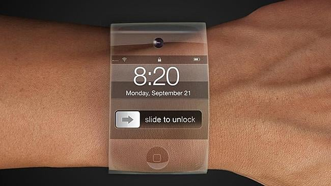 One of the many artist's rendition of what an Apple smartwatch might look like. Keep wishing on a star, it's highly unlikely to happen this week.