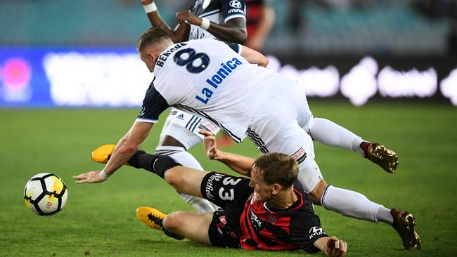 The Wanderers lost their first match of 2018 at home against Melbourne Victory