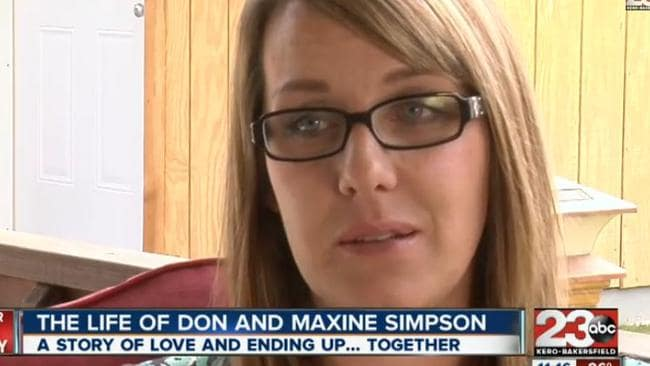 "Love story ... Melissa Sloan describes her grandparents' marriage as ""amazing""."