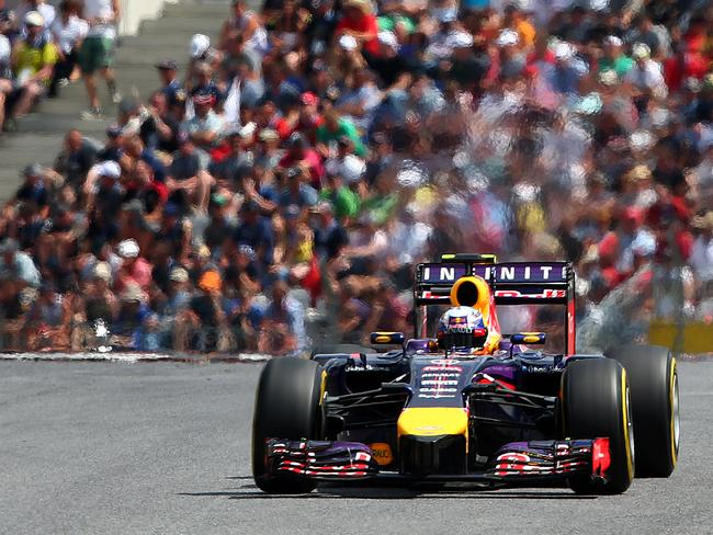 Daniel Ricciardo drove brilliantly at the Austrian grand Prix, only to be let down by his car.