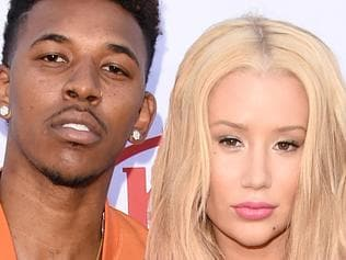 LAS VEGAS, NV - MAY 17: Athlete Nick Young and musician Iggy Azalea attend the 2015 Billboard Music Awards at MGM Grand Garden Arena on May 17, 2015 in Las Vegas, Nevada. (Photo by Jason Merritt/Getty Images)