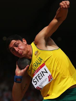 ...and the Shot Put. Picture: Cameron Spencer