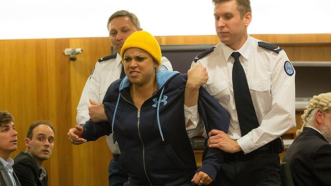 Fat Tony and Co .. Hollie Andrew as Roberta Williams. Picture: Channel Nine