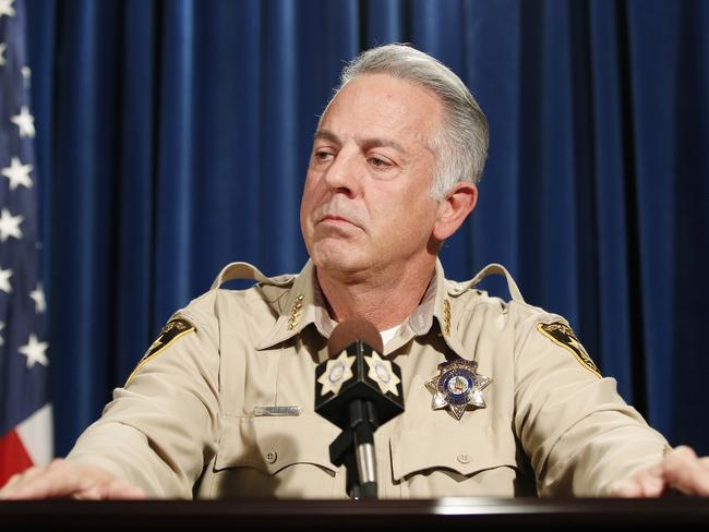 Clark County Sheriff Joe Lombardo. Picture: AFP