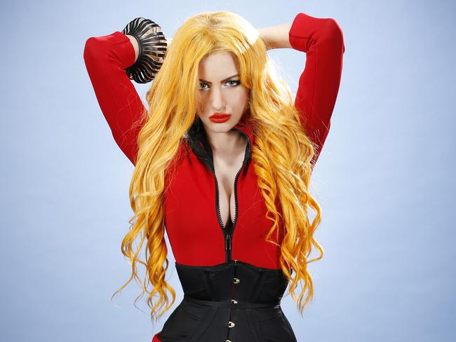 Gabi Grecko, who some say bears a striking resemblance to Brynne. Picture: David Caird