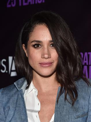 Actor Meghan Markle told Vanity Fair that she and Prince Harry are in love. Picture: AFP Photo/Getty Images/Alberto E. Rodriguez