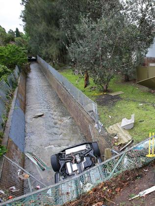 Sydney is recovering from severe storm damage. Picture: Cameron Richadson
