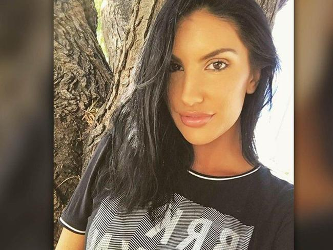 Porn star August Ames took her own life days after she was branded 'homophobic'. Picture: Twitter