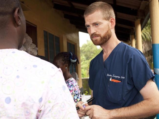 Dr. Kent Brantly is an American doctor who has contracted Ebola. Pic: AFP/Samaritan's Purse/ Joni Byker.