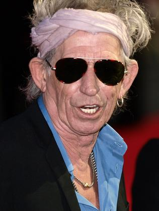 This is Keith Richards ... Picture: Max Nash