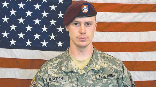 Before he was captured ... Bowe Bergdahl who went missing from his post in Afghanistan on June 30, 2009. He was the only US service member known to be held captive there.
