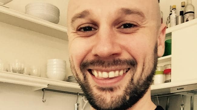 Daniel MacPhail from Melbourne who takes PrEP daily to protect himself against contracting HIV. Source: supplied