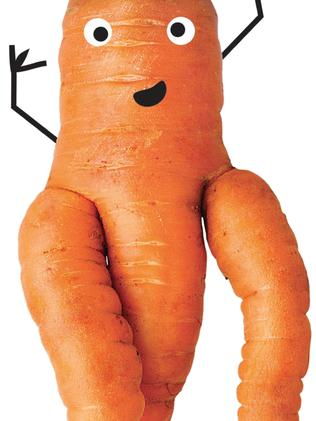 Will you be tempted ... A carrot for Woolworths Odd Bunch campaign.