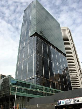 2006: The SX1 building at the site of the old Southern Cross Hotel. Picture: Herald Sun Image Library