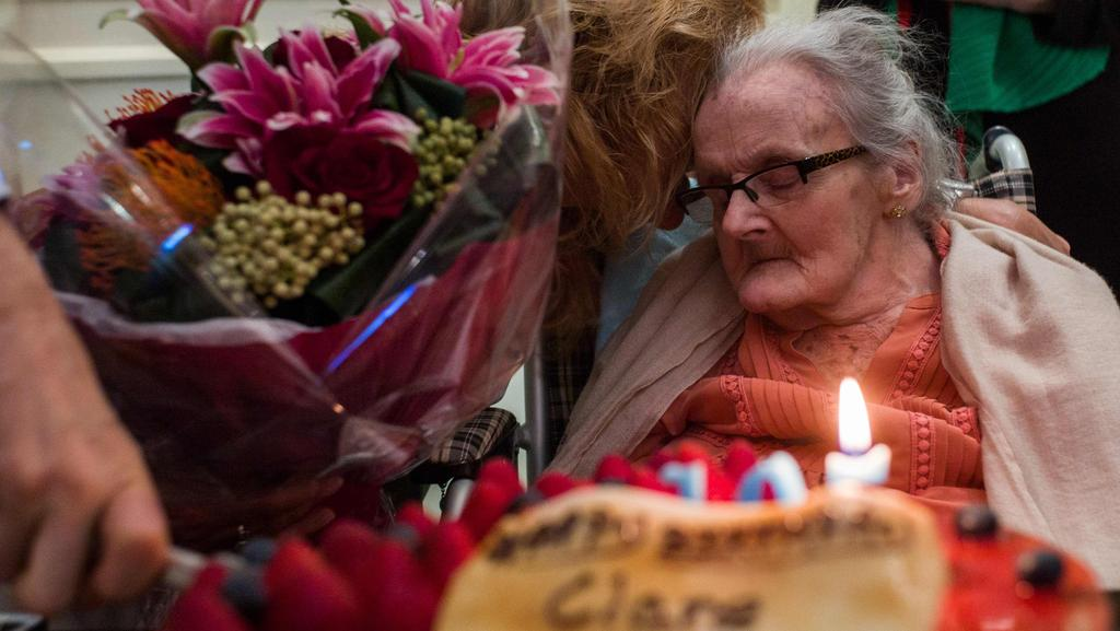 Tributes are pouring in for Clare Hollingworth following her death in Hong Kong, aged 105. Picture: Anthony Wallace.