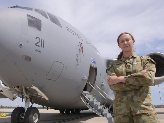SBS's The Feed has gained unprecedented access to the world of transgender women within the Australian Defence Force. Picture: David May