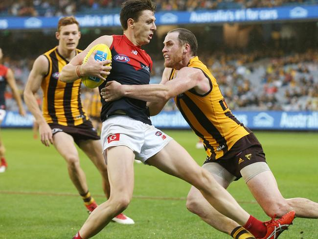 Jake Lever is a Crow no more, but that doesn't bother his former teammates.