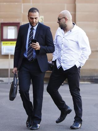 William Siryani (right) pleaded guilty to supplying prohibited drugs on an ongoing basis and knowingly directing activities of a criminal group. Picture: AAP /Daniel Munoz